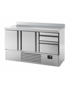 Gastro Counter Fridge (GN 1/1) - with 2 doors and 2 drawers