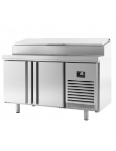 Refrigerated preparation table - with 2 doors